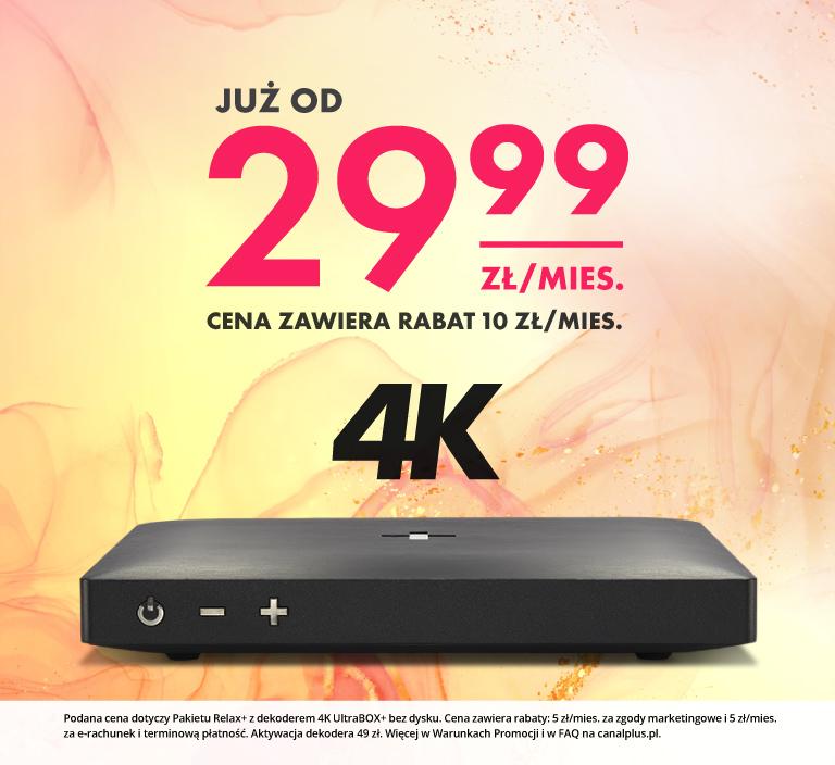 TV+Dekoder już od 29,99zł/mies. ł